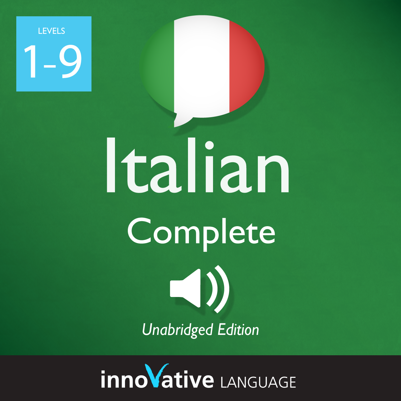 [Audiobook] Learn Italian - Level 1-9: Complete Italian