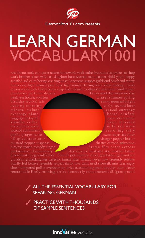 [eBook] Learn German - Word Power 1001
