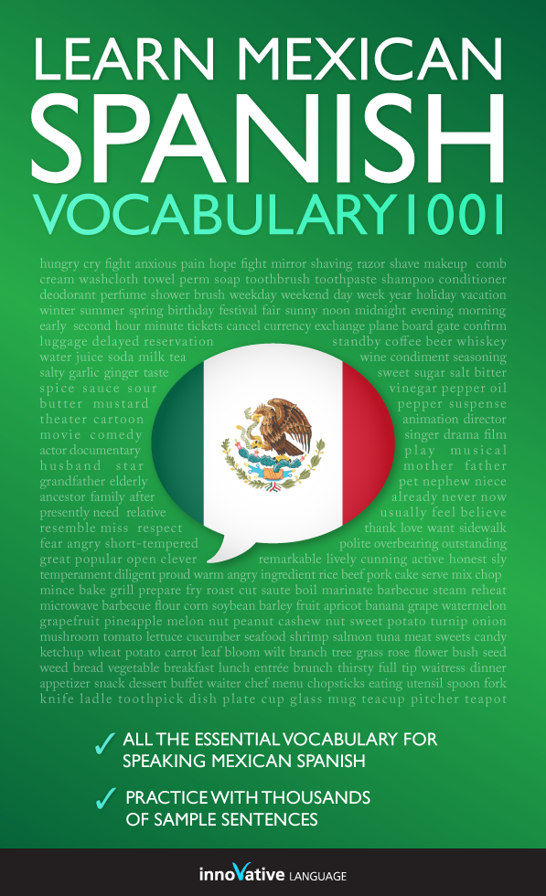 [eBook] Learn Mexican Spanish - Word Power 1001
