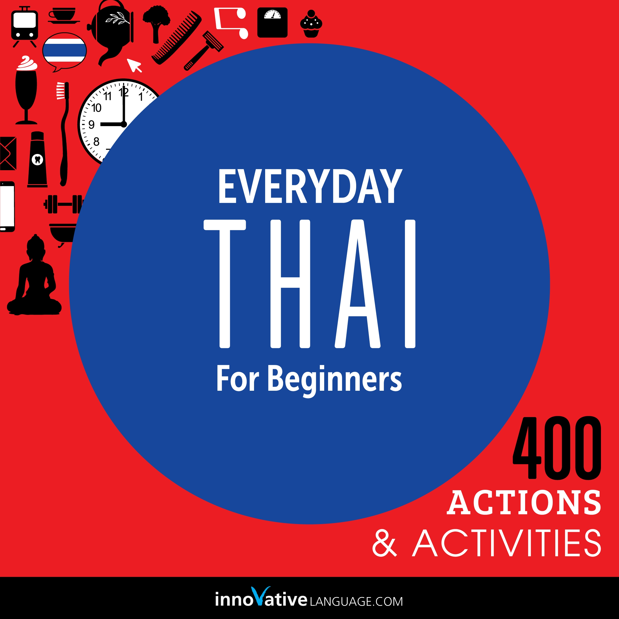 [Audiobook] Everyday Thai for Beginners - 400 Actions & Activities