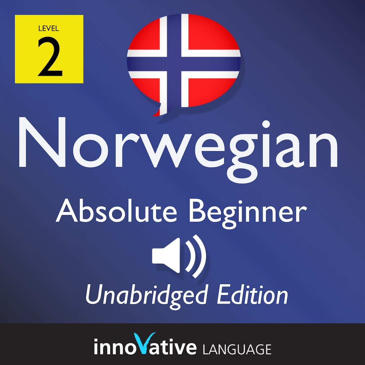 Audiobook Norwegian - Level 2: Absolute Beginner Norwegian, Volume 1