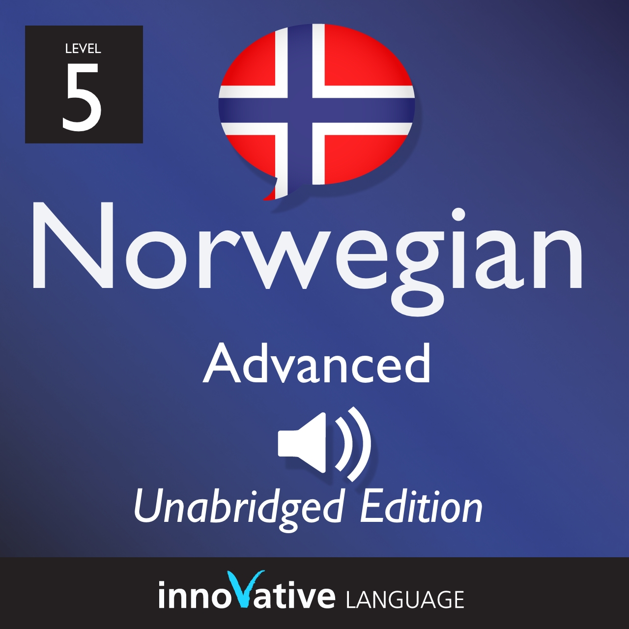 Audiobook Norwegian - Level 5: Advanced Norwegian, Volume 1