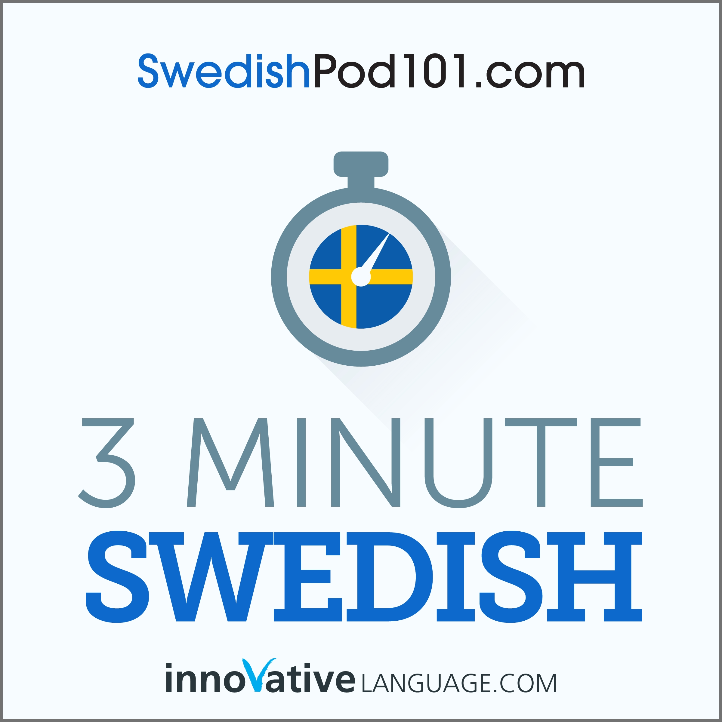 3-Minute Swedish - 25 Lesson Series Audiobook