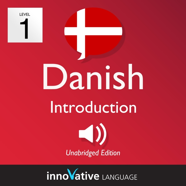 [Audiobook] Learn Danish - Level 1: Introduction to Danish, Volume 1