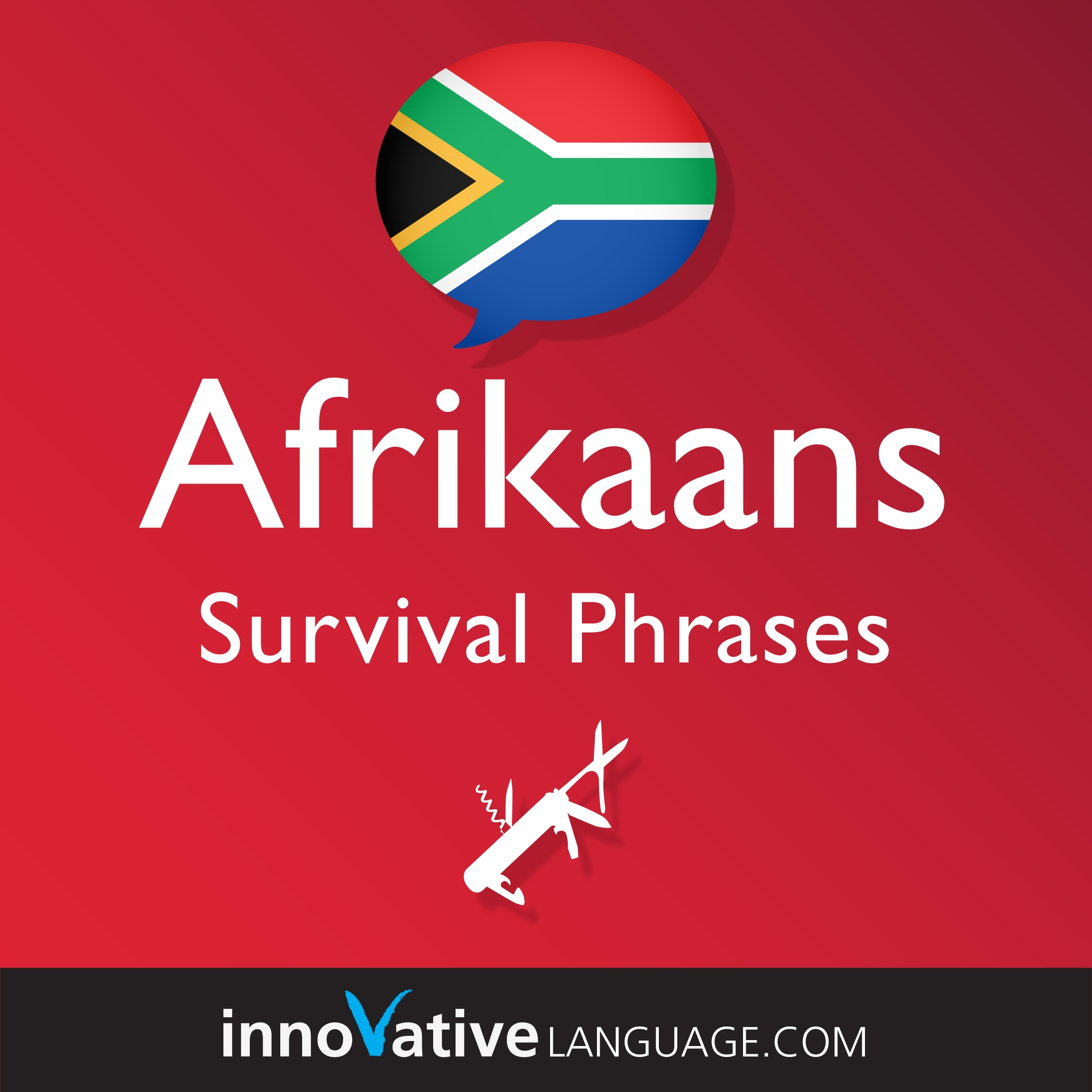 Audiobook Afrikaans - Survival Phrases Afrikaans