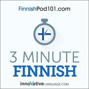 3-Minute Finnish - 25 Lesson Series Audiobook