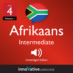 Audiobook Afrikaans - Level 4: Intermediate Afrikaans, Volume 1