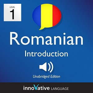 Audiobook Romanian - Level 1: Introduction to Romanian: Volume 1
