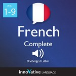 Audiobook French - Level 1-9: Complete French