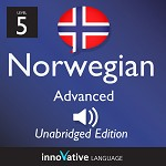 Audiobook Norwegian - Level 5: Advanced Norwegian: Volume 1