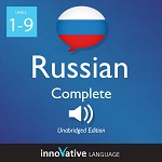 Audiobook Russian - Level 1-9: Complete Russian