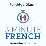 3-Minute French - 25 Lesson Series Audiobook